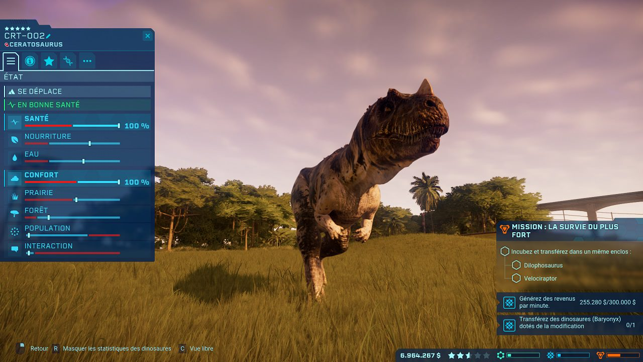 Ceratosorus Jurassic World Evolution